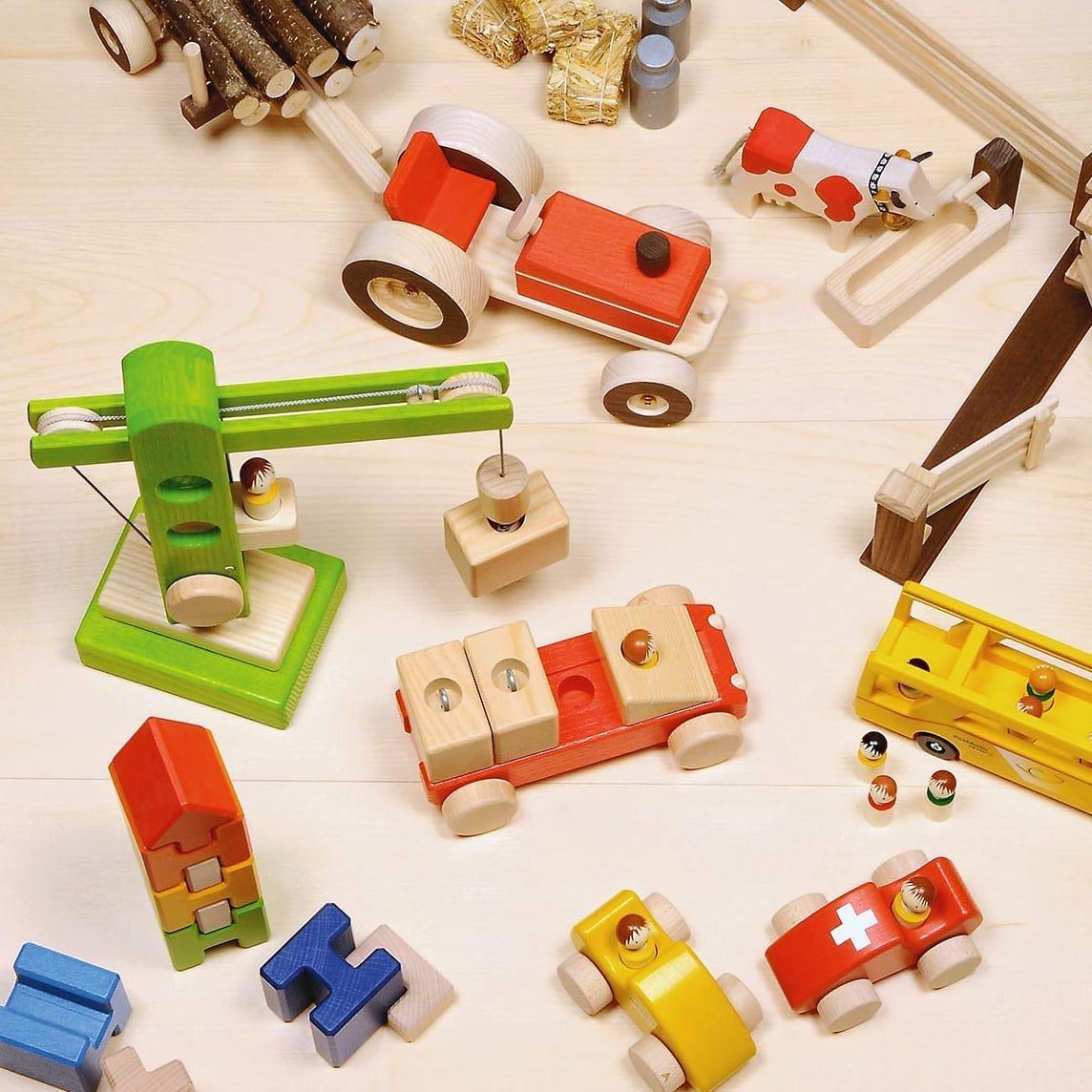 Jouets fabriqués en Suisse